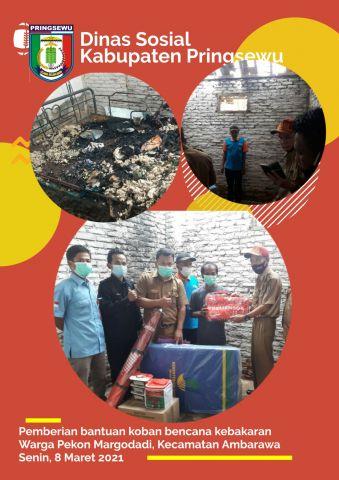 Bantuan Korban Bencana Warga Pekon Margodadi